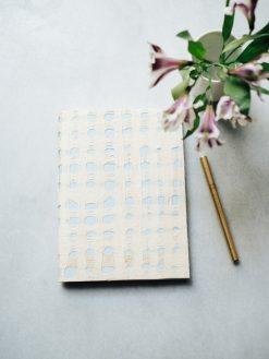 Cuaderno Amate y azul celeste 7