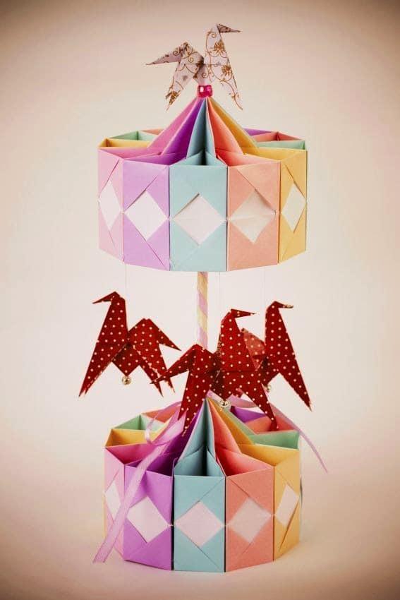 Carrusel de origami