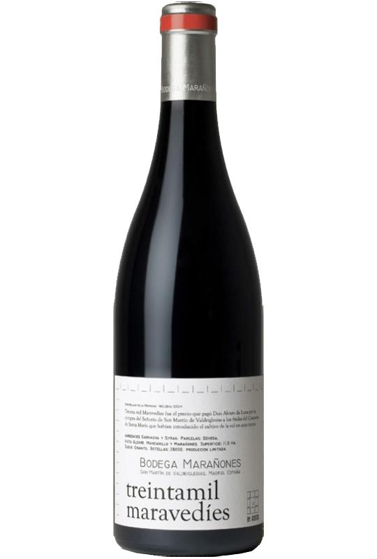 vino-tinto-treintamil-maravedies-madrid-bodega