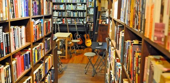 Librería Infinity Books en Tokio
