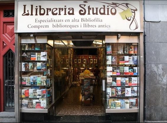 Librería anticuaria Studio
