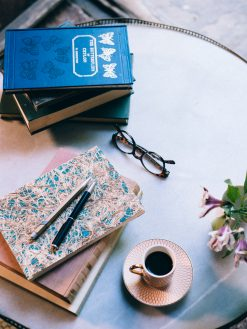 Cuaderno Amate y azul 11