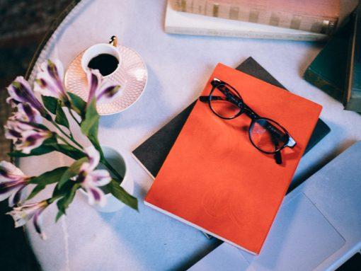 Cuaderno piel naranja 7