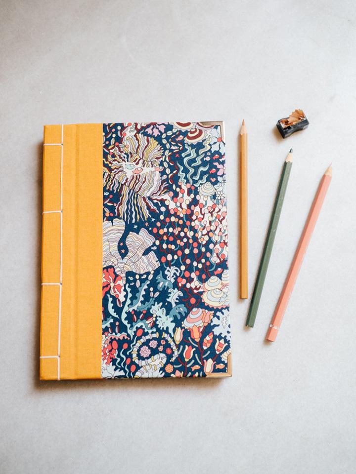 Cuaderno de sueños arrecife y amarillo (Liberty) 1