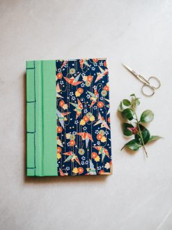 Cuaderno de sueños grulla azul 4