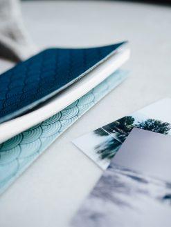 Cuaderno Deportivo azul 7