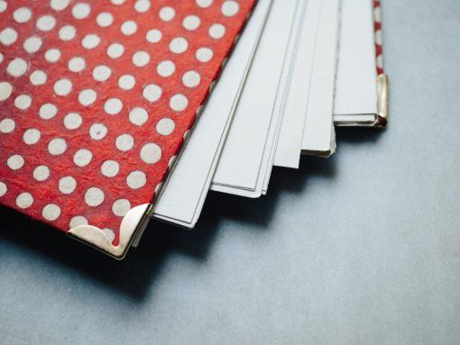 Album Rojo y puntos blancos 4