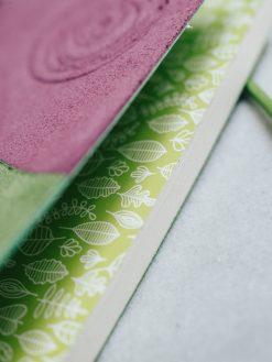 Cuaderno piel multicolor 6