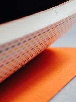 Cuaderno piel naranja 10