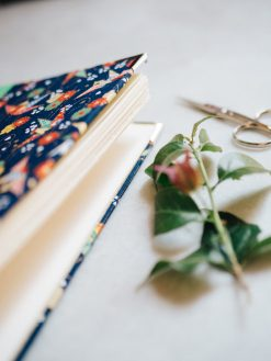 Cuaderno de sueños grulla azul 5