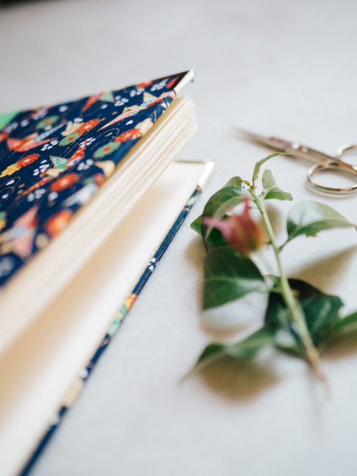 Cuaderno de sueños grulla azul 3