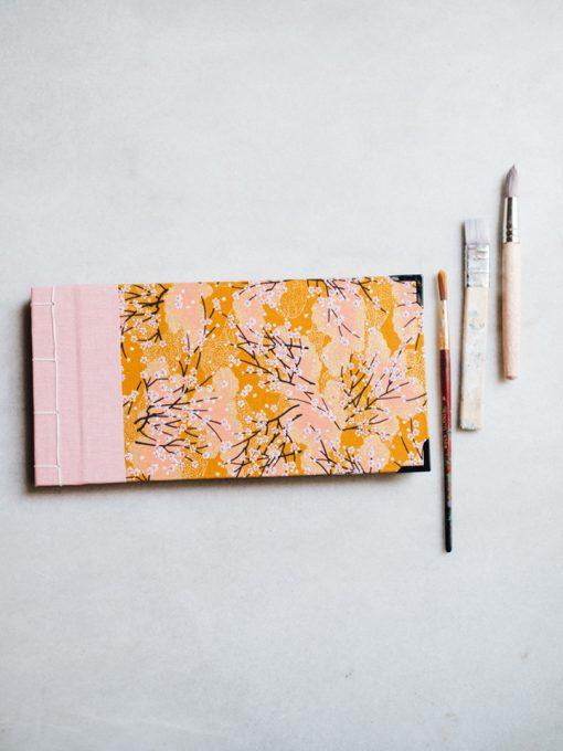 Pintura dorado y rosa 1