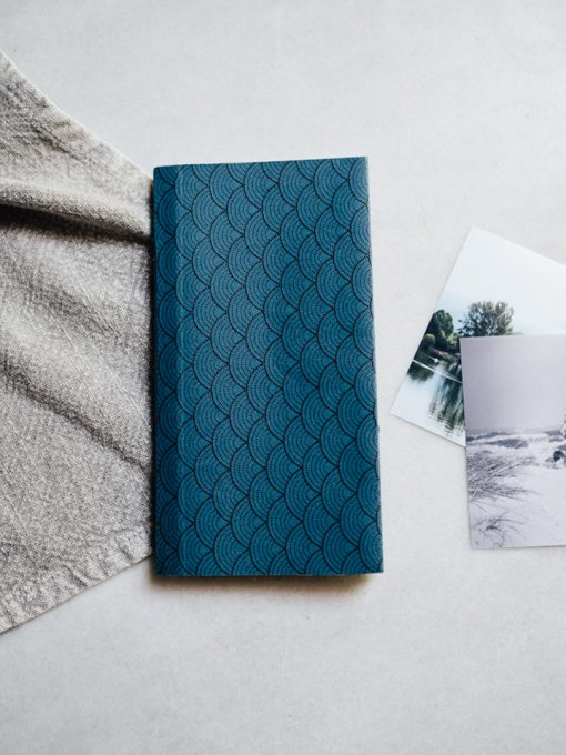 Cuaderno Deportivo azul 3