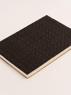 Cuaderno Piel negra Trenzada 9