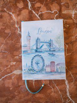 Papelería Artesenal Cuaderno de Viaje Personalizado