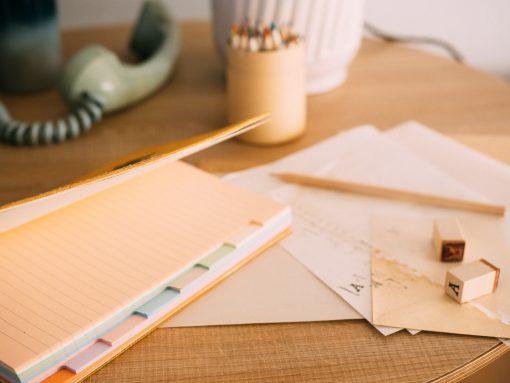 Cuaderno piel mostaza 6