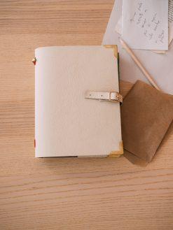 Papelería Artesanal Agenda Piel Personalizada