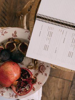Papelería Artesanal Agenda de Vinos y Restaurantes Personalizada