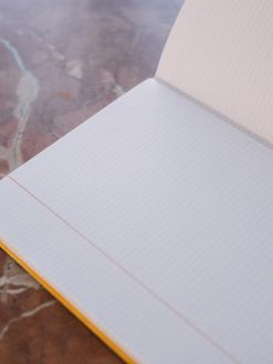 Cuadernillo interior rayado 3