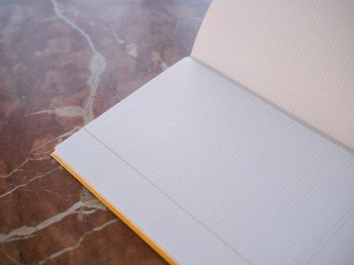 Cuadernillo interior rayado 2