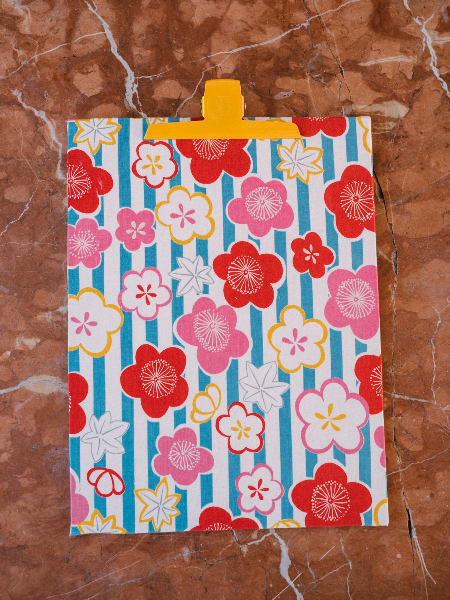 Portablock Flores Rojas 1
